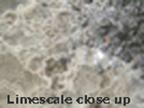 Fig 3 - Limescale Close Up